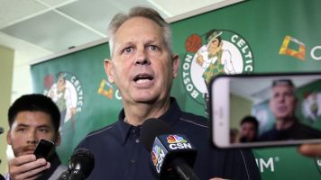 Celtics GM accidentally reveals draft pick early