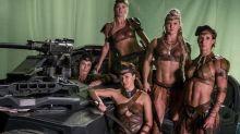 Liga de la Justicia cambió el vestuario de las amazonas por un look sexy ¡Mira la prueba!