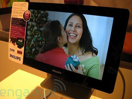Hands-on with the Philips PVD1075 portable DVB-T player