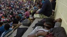 Caravana migrante marcha por Guatemala ante amenazas Trump