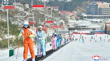 First visitors arrive at North Korea's newest ski resort