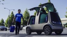 Self-driving car startup Nuro teams up with Kroger for same-day grocery delivery