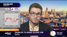 Daimler to make 10,000 job cuts