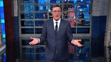 Colbert Dissects Trump's Latest 'Tin-Foil Hat Loon' Conspiracy Theory