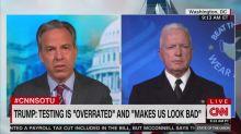 Jake Tapper Grills Coronavirus Testing Czar: Are You 'Afraid' of Upsetting Trump?