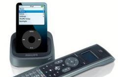 Philips SJM3151 universal remote mirrors your iPod screen