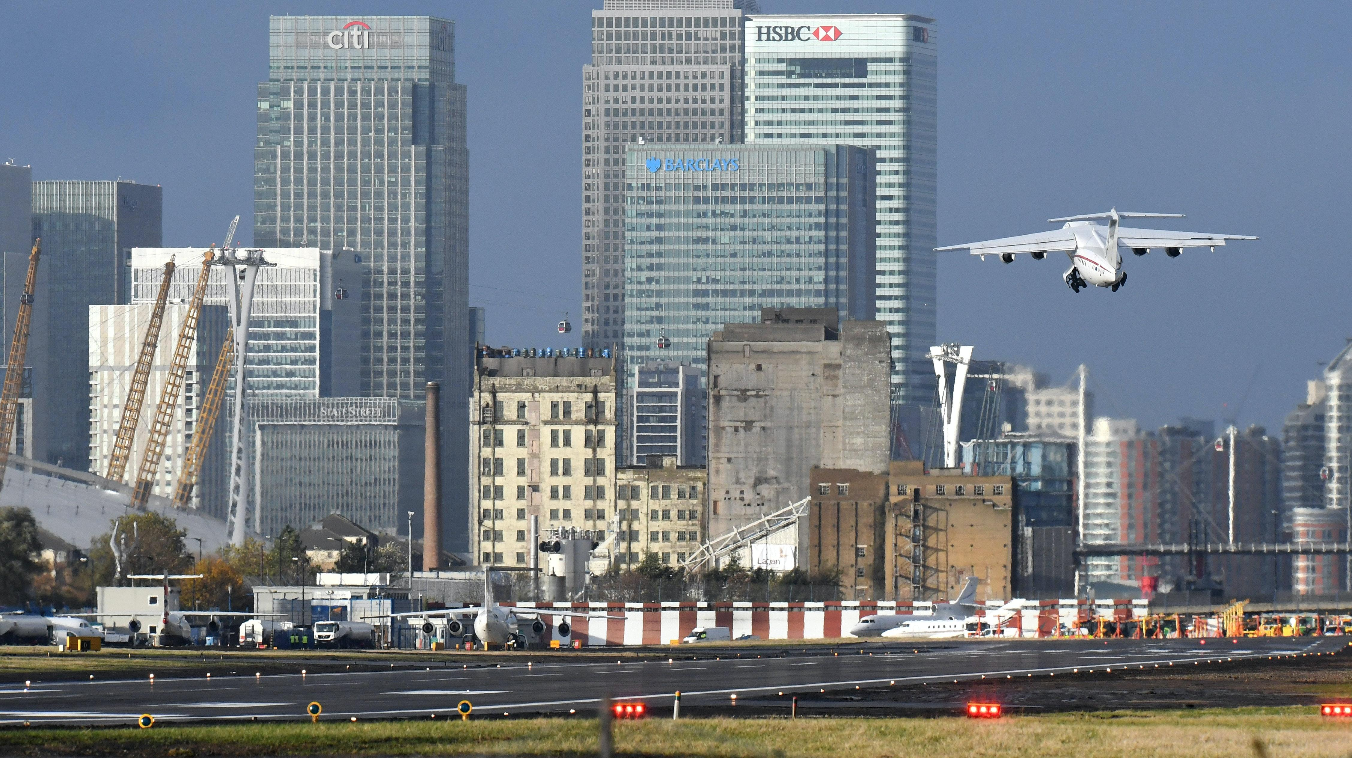 London City Airport reopens after three-month closure