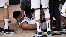 Bucks star Giannis Antetokounmpo to miss Game 5 against Heat with ankle sprain