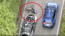 Australian team involved in 'horrific' incident at Giro D'Italia
