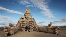 Festival de arte no meio do deserto traz esculturas incríveis