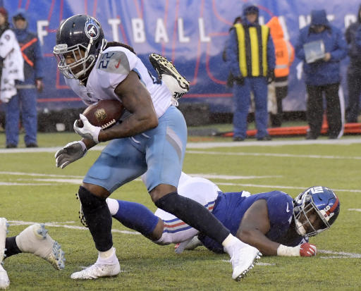 Henry rushes for 170 and 2 TDs, Titans win 3rd straight