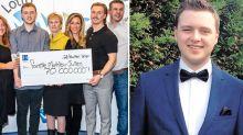 Man, 22, wins record-breaking $80 million lotto jackpot