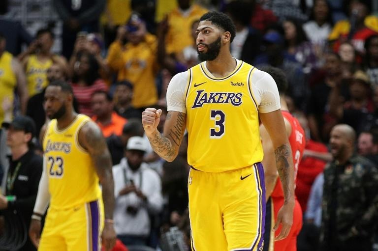 Lakers Davis Scores 41 In Triumphant Return To New Orleans
