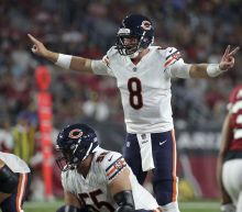 Mike Glennon fails to impress, Mitch Trubisky does OK in relief