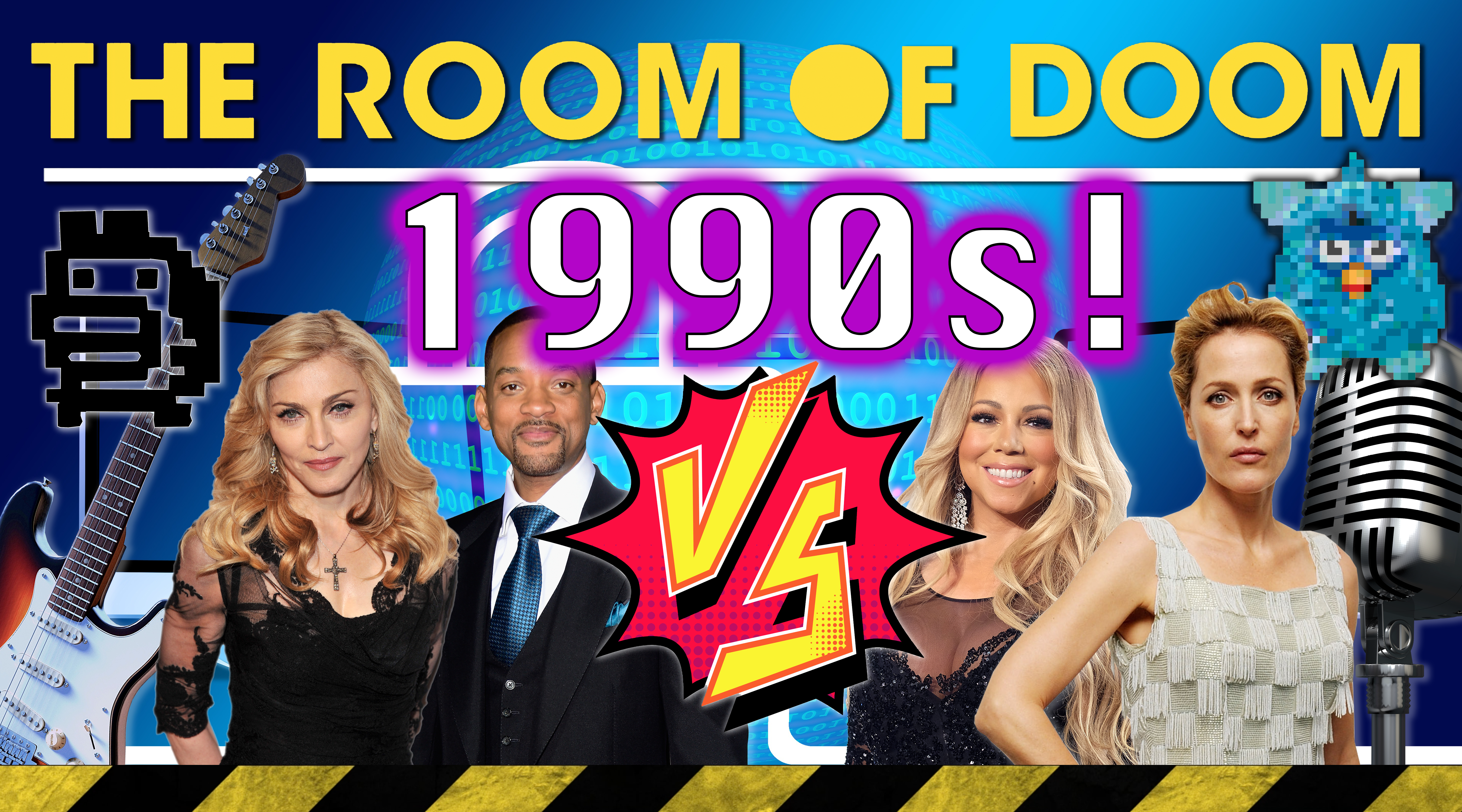 How well do you know the 1990s? Play along with 'The Room of Doom' and find out