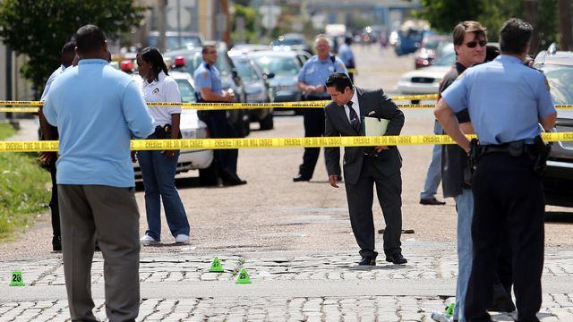 Hunt for gunmen after New Orleans parade shooting