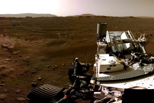 NASA releases jaw-dropping video and audio from Mars, with an assist from AWS