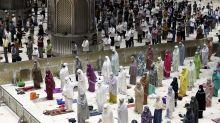 Muslims open Ramadan with social distanced prayers, vaccines