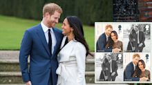 Prince Harry and Meghan Markle score their own official royal wedding stamps