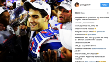 Jimmy Garoppolo's Instagram account bids farewell to Boston; reps claim he was hacked