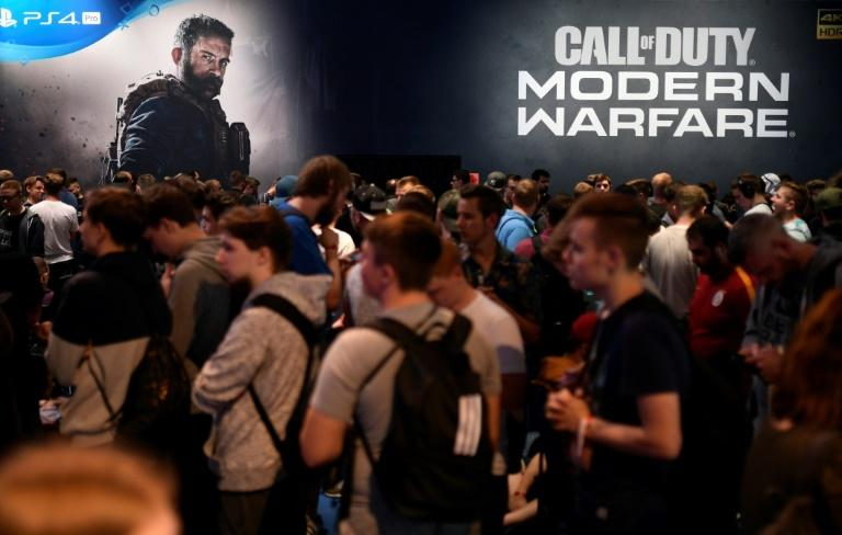 """Sociologists say """"there is no causal link between violence in games and violent acts perpetrated by players."""" (AFP Photo/Ina FASSBENDER)"""