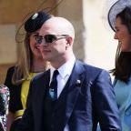 Fans love Tom Hardy's bald head at royal wedding