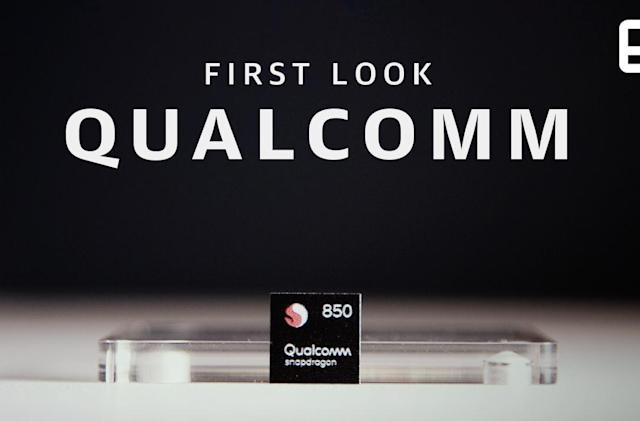 The Snapdragon 850 is Qualcomm's first chip built for Windows PCs