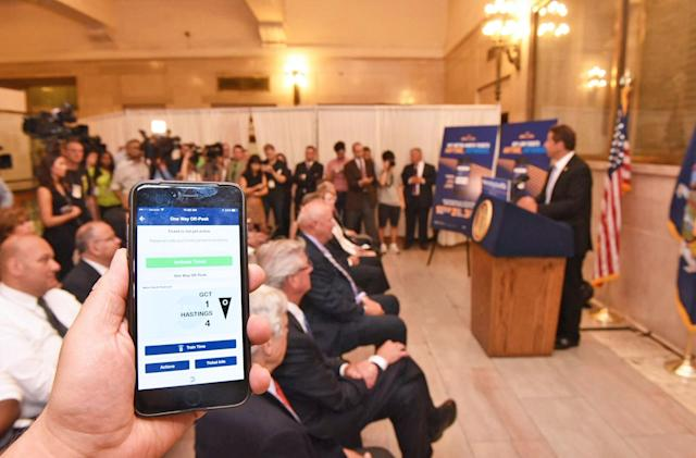 New York speeds up access to its train ticket mobile app