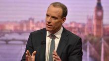 Ex-Brexit secretary Dominic Raab says Boris Johnson is 'not an ally' amid leadership speculation