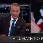Bill Maher Tells Hillary Clinton to Embrace GOP Stereotypes, Become 'Notorious HRC' (Video)