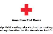 Donate to the Red Cross Haiti relief effort via iTunes