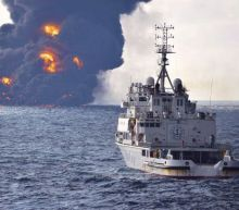 Massive oil spill spreads in East China Sea, could be world's largest in decades