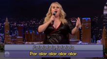 Rebel Wilson sings hilariously confusing Christmas classics with Jimmy Fallon