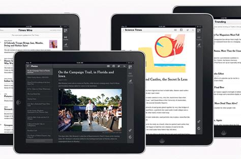 New York Times releases 'experimental' HTML5 iPad app, puts Twitter trends front and center