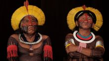 Brazil's indigenous tribes protest against land theft