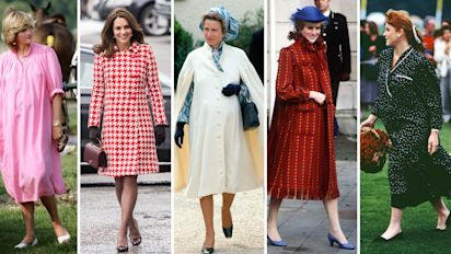 From Princess Diana to the Duchess of Cambridge: The best royal maternity looks