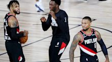 Damian Lillard scores 61 points, win vaults Portland to eight seed