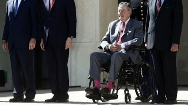 Jeb Bush: Dad Defies Convention With Socks