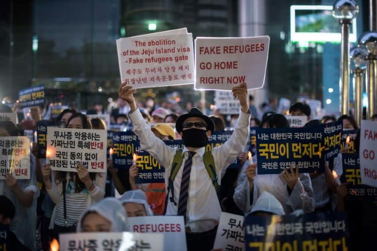 S  Korea refuses refugee status for nearly 400 Yemenis