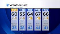 KDKA-TV Evening Forecast (4/25)