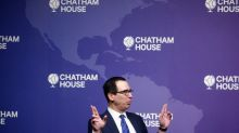 U.S. Treasury's Mnuchin says he has learned his lesson on dollar comments