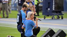 'Voice' Star Meghan Linsey Defends Her National Anthem Knee Despite Backlash From Country Fans