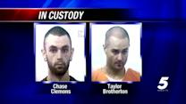 Both McClain County escapees now in custody