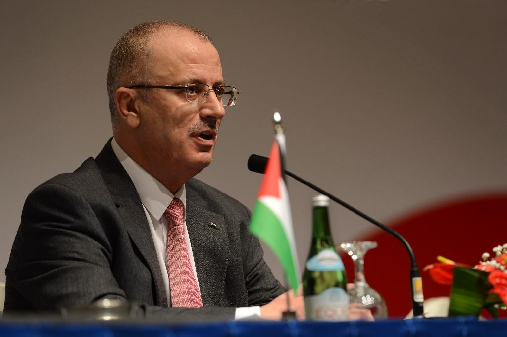 Palestinian prime minister Rami Hamdallah rejected an Israeli proposal for direct negotiations instead of a French multilateral peace initiative