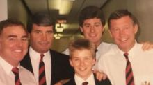David Beckham shares incredible photo of himself as schoolboy – and you'll be shocked