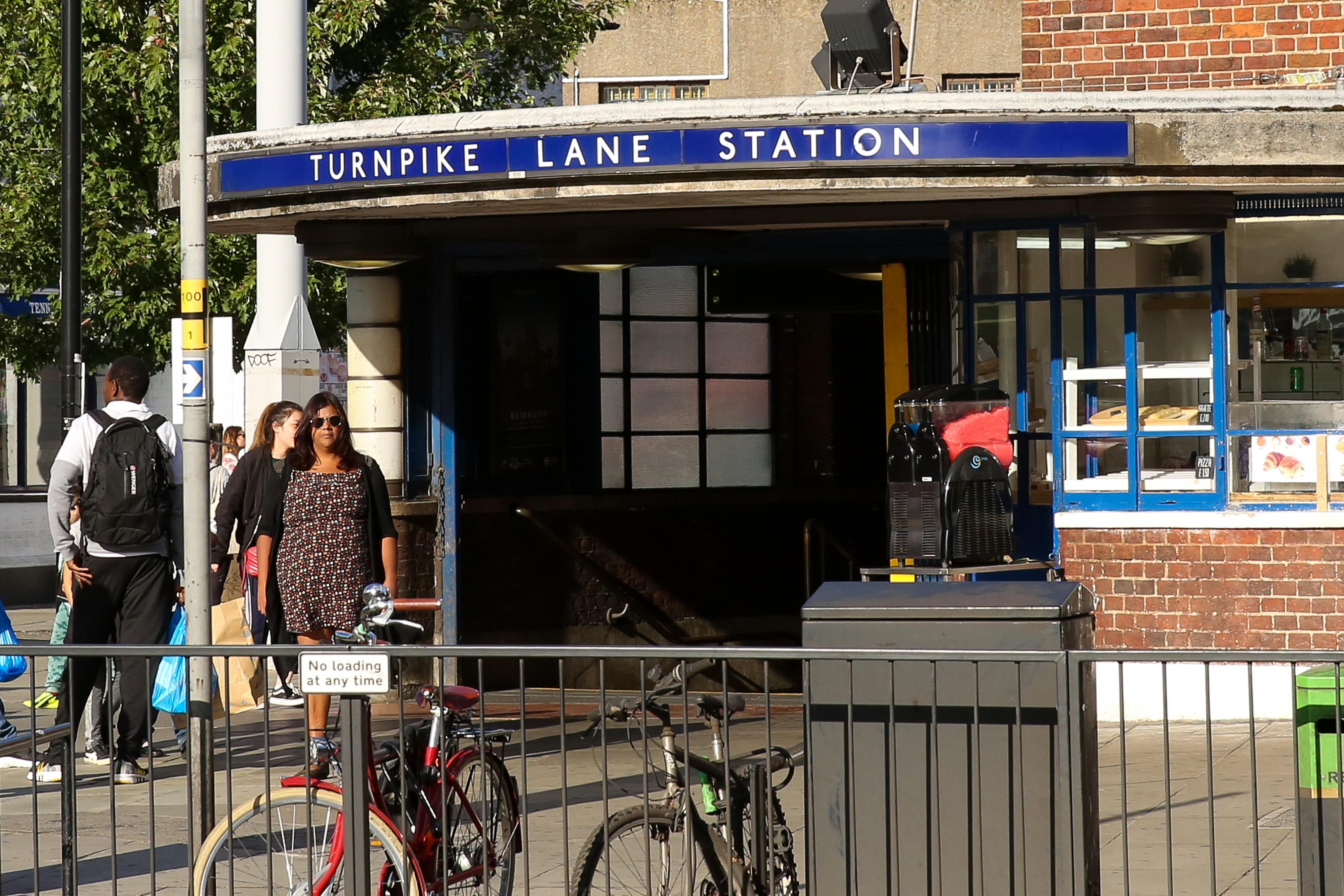 Turnpike Lane shooting: Boy, 17, in life-threatening condition after being shot outside tube station