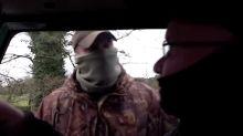 Masked thugs filmed attacking hunt saboteurs