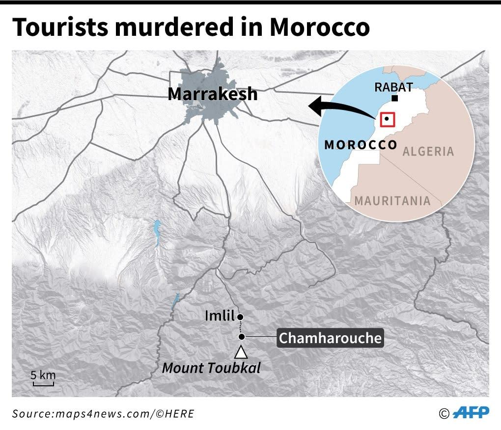 Maren and Louisa, the Scandinavian hikers killed in Morocco
