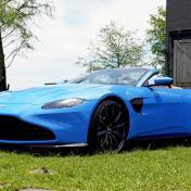 980萬元起,最速收放頂篷敞篷車,Aston Martin Vantage Roadster乘風浪漫上市