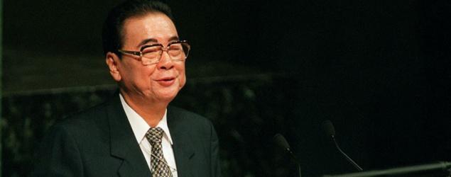 【享年91歲】新華社:前國務院總理李鵬在北京病逝
